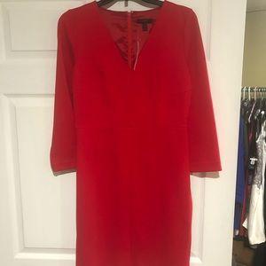 NWT J Crew Red Dress Size 6